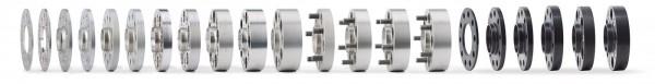 H&R Spurverbreiterung DR 10 mm pro Achse M12 x 1,25 98/4 58